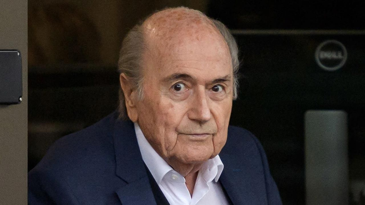 Sepp Blatter has been suspended by FIFA.