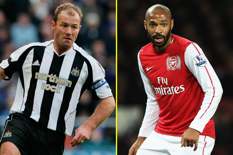 The Premier League Hall of Fame inducted Henry and Shearer.